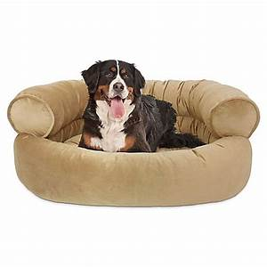 orthopedic microvelvet comfy couch large pet bed bed With big comfy dog beds