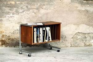 Meuble Platine Vinyle Vintage : meuble de rangement vinyle home pinterest rangement vinyle vinyles et meuble de rangement ~ Teatrodelosmanantiales.com Idées de Décoration