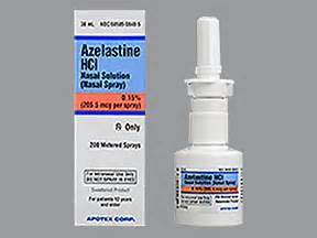 Medicine information - Kaiser Permanente Azelastine Nasal Spray