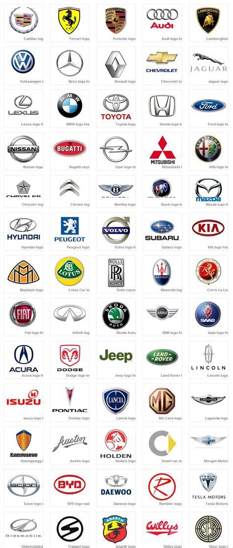 car logo print coches y motocicletas logos de coches