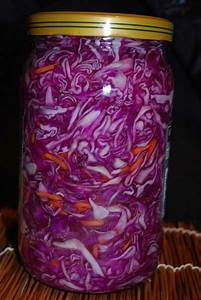 the most delicious pickled cabbage