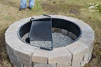fire pit construction Our New Belgard Outdoor Fire Pit - Cottage at the Crossroads