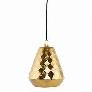 Brass pendant lamp complete with textile cord by old