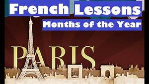 Months Of The Year - French Lesson