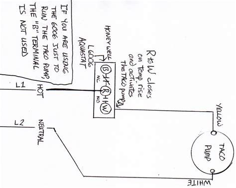 honeywell aquastat l6006a wiring diagram 40 wiring