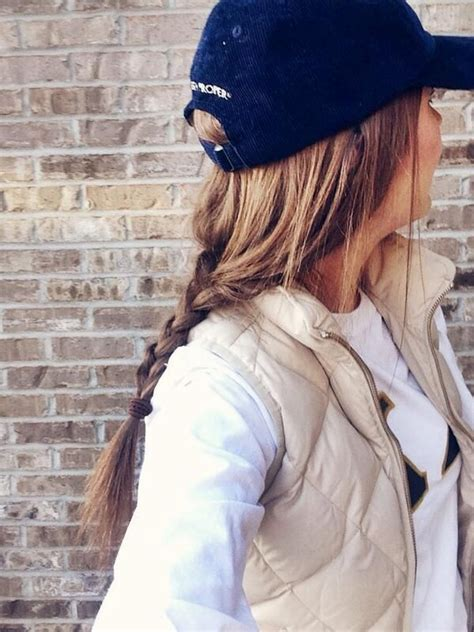 cute baseball hat to throw on before class on bad hair
