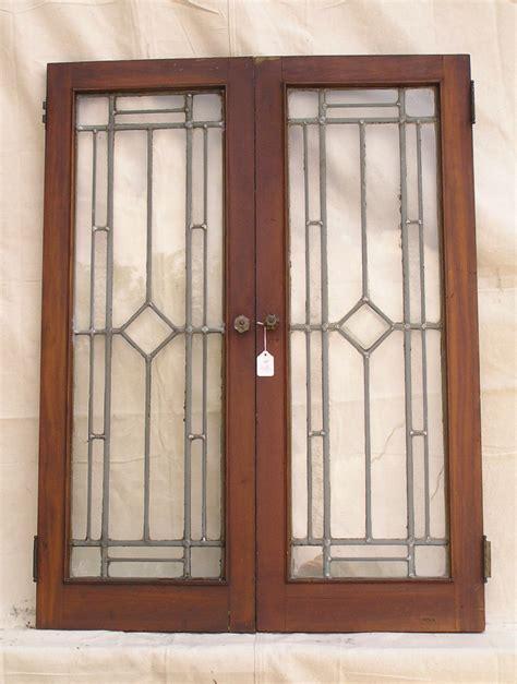leaded glass cabinet doors sold antique cabinet doors