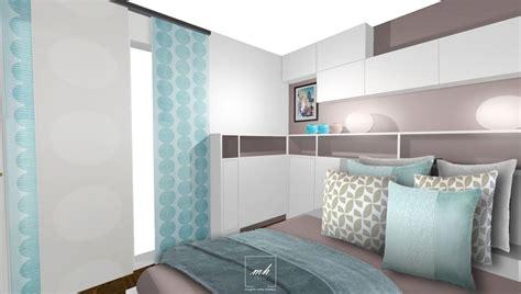 chambre couleur et taupe deco chambre parentale bleu