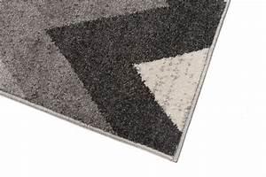 Teppich Für Jugendzimmer : tapiso maroko teppich modern kurzflor designer geometrisch zick zack muster in grau f r ~ Whattoseeinmadrid.com Haus und Dekorationen