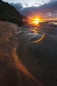 Kauai Hawaii Beaches Sunset