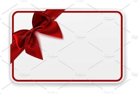 blank gift card templates design templates