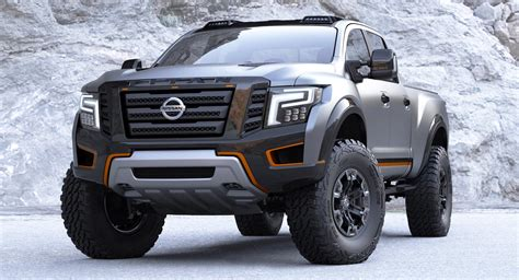 nissan titan warrior concept technical specifications data