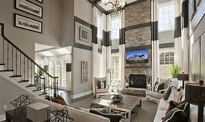 Dan Simmons: Emphasizing Luxury Model Home Interior ...