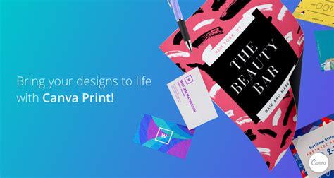 create  print beautiful designs  canva