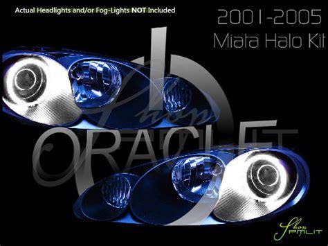 oracle 01 05 mazda miata ccfl halo rings headlights bulbs