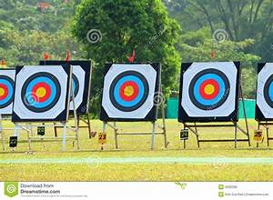 Archery target boards stock photo. Image of abstract ...