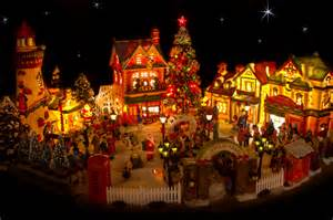 lighted house displays on pinterest christmas villages christmas village display and north pole