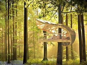 Ideas : Unique Cool Tree Houses Design Ideas Ropes' Unique ...