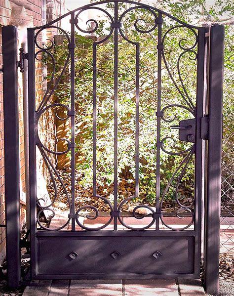 garden iron metal outdoor gates doors iron gates firescreens custom