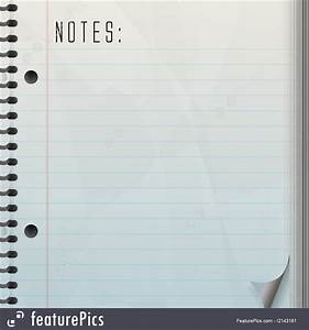 free memo pad illustration of blank note pad