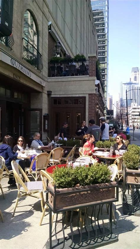 outdoor dining chicago il modern patio outdoor