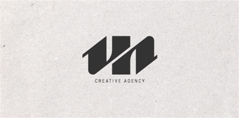 Uh Logo Letter Design Vector