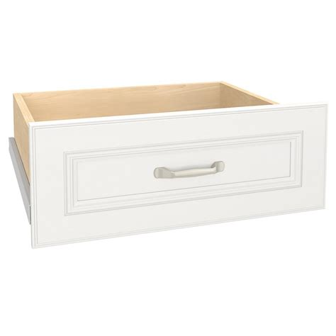 Closetmaid Drawer Kit - closetmaid impressions 23 in w x 10 in h white deluxe