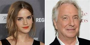 Emma Watson Attacked For Tweeting Alan Rickman Quote ...