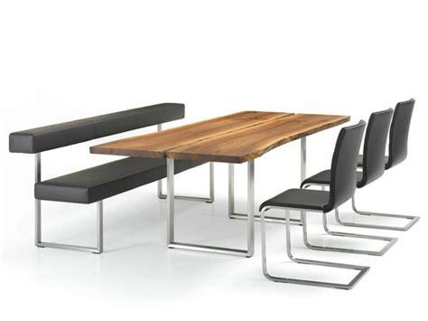 mobilier contemporain table chaises et bancs par girsberger