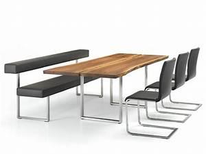 Mobilier Bois Design : mobilier contemporain table chaises et bancs par girsberger ~ Melissatoandfro.com Idées de Décoration