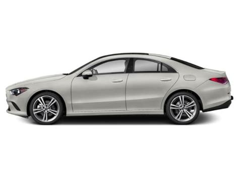 A modernized interior joins a solid and playful chassis. 2020 Mercedes-Benz CLA 250 4MATIC Coupe   Polar White 20-1073