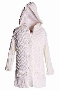 Gilet Laine Homme Grosse Maille : gilet maille capuche femme laine et tricot ~ Melissatoandfro.com Idées de Décoration