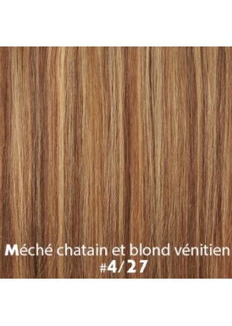 tissage bresilien lisse meche chatain  blond venitien