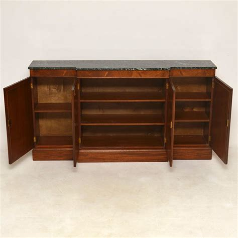 Antique Marble Top Sideboard by Antique Regency Style Marble Top Sideboard Marylebone