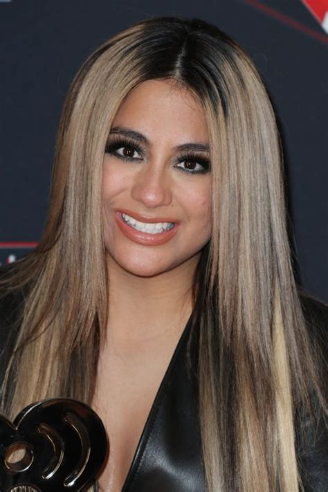 Ally Brooke Straight Light Brown All Over Highlights