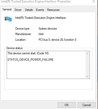 updated intel management engine interface driver