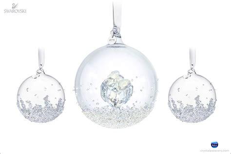 swarovski christmas ball ornament set 2016