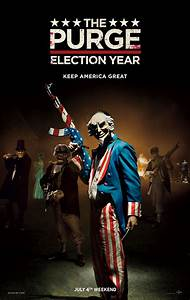 New Trailer And Poster To The Purge: Election Year ...