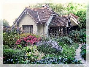 English Cottage Garden Photograph by Edward Fielding