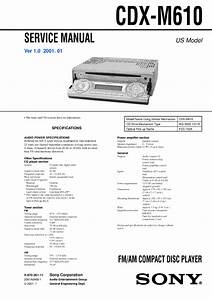 Sony Cdx Gt575up Wiring Diagram