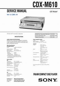 Sony Cdx Gt310 Wiring Harnes