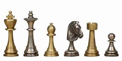 Chess Pieces Transparent King Board Metal Freepngimg