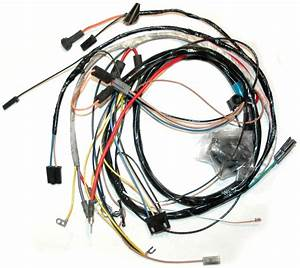 1973 Corvette Wiring Harness  350 Engine  Manual