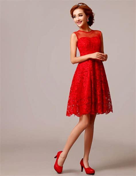 elegantes rotes kleid rotes elegantes kleid