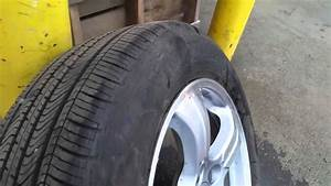 Watch What Happens When Your Tire Sidewall Bubble Fails