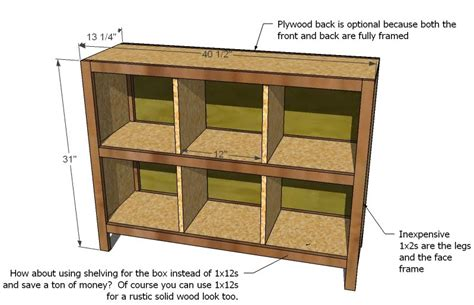how to build a cube bookcase woodworking diy storage cube shelves plans pdf download
