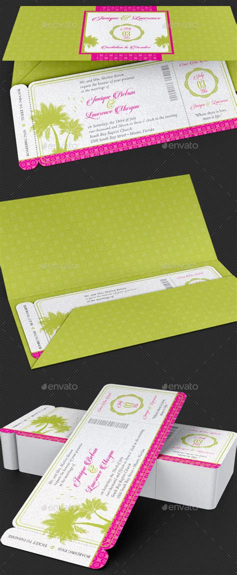tropical stationery template 40 best wedding invitation psd templates designmaz