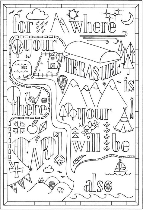 colouring  bible verse matthew  instant