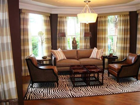 Brown Plaid Curtains for Living Room : How Steam Clean