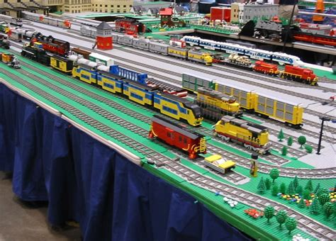 mainan track lego trains